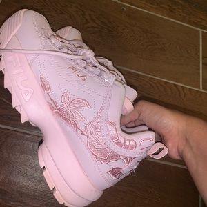 Fila Disruptor 2 Rose Athletic Shoe Pink